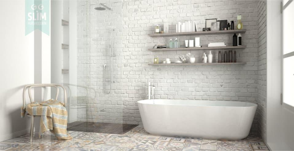 Wekelijkse opfrisbeurt badkamer