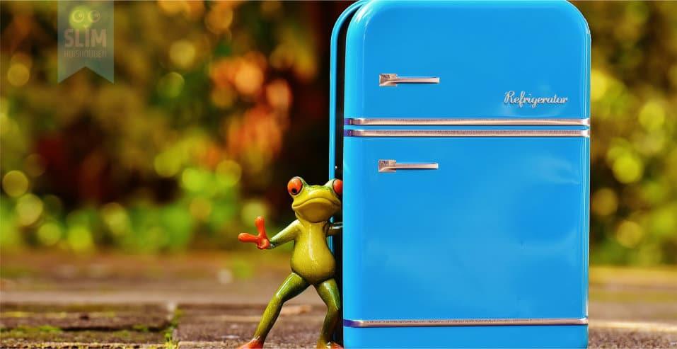 Wekelijkse opfrisbeurt koelkast