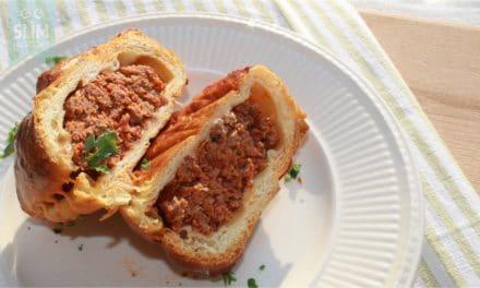 Tartaar met chorizo in croissantdeeg